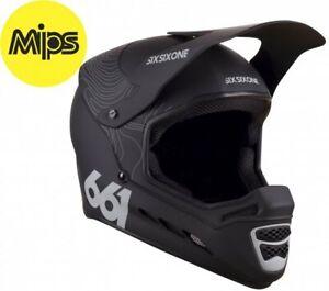 SixSixOne Reset MIPS Helmet Contour Black - Full Face Mountain Bike MTB BMX