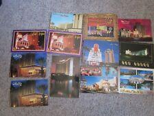 Vintage Lot of 12 Las Vegas Postcards Unused Sands MGM Sahara Aladdin Bellagio