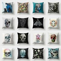 Polyester Decor Home Cushion 18'' Case Pillow Waist Cover Throw Sofa