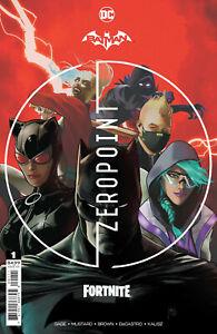 Batman Fortnite Zero Point #1 3rd Print Includes DLC code *READ DESCRIPTION*