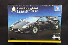 XW059 ITALERI 1/24 maquette voiture 666 Lamborghini Coutach 5000 Quattrovalvole