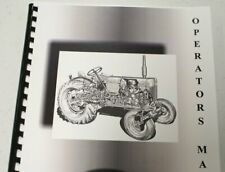 Massey Ferguson 1240, 1250, 1260 Tractor Operators Manual
