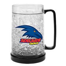 Adelaide Crows AFL Logo Ezy Freeze Beer Mug Stein **AFL OFFICIAL MERCHANDISE**