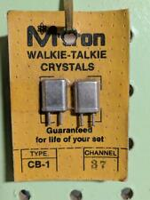 M-Tron Walkie Talkie Crystals Channel 37 -- MTron type CB-1