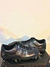 Look!! Unique Hugo Boss Dragon Style Joel Sneaker Black Shoe Size 8 US