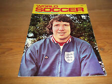 Football Magazine World Soccer February 1972 Dave Sexton Chelsea Ronnie Yates