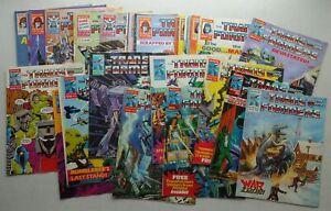 Transformers comic #50-139 (1986-1987) x 33 Many FN (phil-comics)