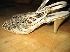 Sommer - Pumps Latin Tanzs Schuhe ` sehr Luftig `` Schnallen Gr.: 39