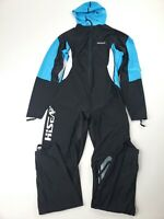 Scubadonkey Hisea Hooded Wetsuit Black/ Blue XL NWOT
