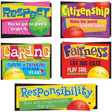 Character Education Bulletin Board Set Trend Enterprises Inc. T-8146