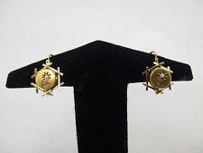 wunderschönes Paar Ohrringe im Biedermeier Stil Gold 750  / 18k