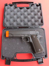 Hard Plastic Hand Gun Storage or Carrying Case with Foam Padding