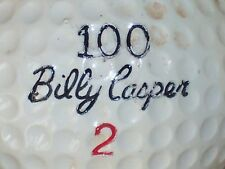 1964 BILLY CASPER BILTMORE 100 SIGNATURE LOGO GOLF BALL