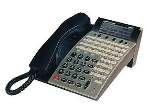 NEW NEC DTERM SERIES E PHONE DTP-32D-1(BK)TEL 590061 BLACK *1 YEAR WARRANTY* NIB