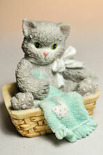 Calico Kittens: Always Thinking Of You - Solitude - 112437 - Kitten in Basket