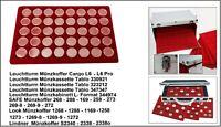 Look 12329-40-CAPS Münztableaus + 40 Münzkapseln 27,5 Für 5 Euro Blauer Planet