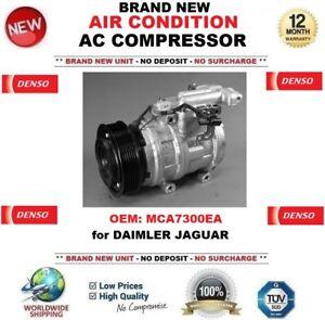 DENSO AIR CONDITION AC COMPRESSOR MCA7300EA for DAIMLER JAGUAR BRAND NEW UNIT