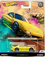 HOT WHEELS 2019 CAR CULTURE PREMIUM STREET TUNERS '95 MAZDA RX-7