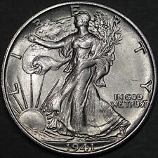 1941-S Walking Liberty Half Dollar 50C - Gem Uncirculated