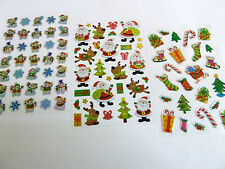 Fun Christmas Xmas Stickers for Kids - for Craft, Card-making & Decoration