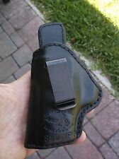 Mernickle Black Leather PS2 SOB IWB Holster Fits S&W M&P Compact