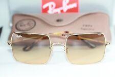 Ray Ban SQUARE Sunglasses RB1971 9150AC Gold Frame W/ Orange PHOTOCHROMIC Lens