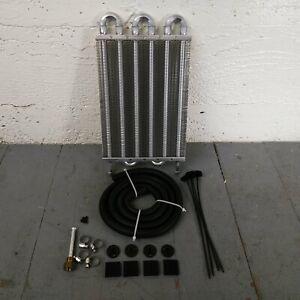 """1978-88 GM G-Body 6-Row 13"""" Transmission Trans Oil Cooler Hurst Notchback 229 LS"""