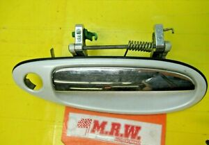 DOOR HANDLE RIGHT FRONT OUTER WHITE CHROME R for INFINITI I30 MAXIMA 96 97 98 99