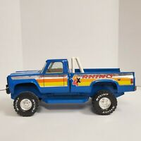 Vintage Nylint Steel Rhino Blue Chevy 4X4 Pickup Truck Made In USA Metal Car