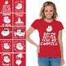 Santa Shirt Ugly Christmas Tshirt for Women Funny Santa Tshirt for Xmas Party