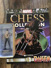 Eaglemoss Marvel Chess Collection # 41 DAKEN # Black Pawn + Magazine