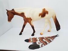 Peter Stone Vintage Dun Paint Western Pleasure horse 1998