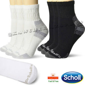 Dr Scholl's Extra Wide Non Elastic Low Cut Ankle Diabetic Sports Socks 6-11 Lot