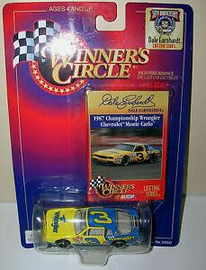 Winners Circle 1998 Dale Earnhardt #3 ~ Wrangler Chevrolet 1:64 Yellow 55968 NEW