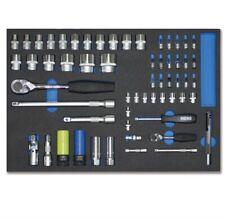 """Heni Werkzeugsortiment  Werkzeug-modul 1/2"""" + 1/4"""" Schaumstoff Einlage"""