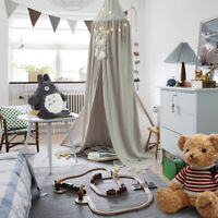 Kids Baby Bedcover Bed Canopy Mosquito Net Tent Cotton Curtain Bedding Dome