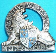 Insigne du 1° Régiment d'Infanterie