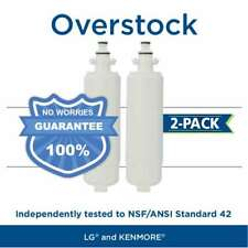 Fits LG LT700P 46-9690 ADQ36006101 Comparable Refrigerator Water Filter 2 Pack