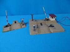KIBRI Set of 2 Level Crossings Tin Plate 50-ies