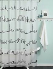 NYC waterproof  Shower Curtain City CITYSCAPE Fast Free Shipping