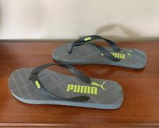 Puma Mens Flip Flops Thong Sandals Beach Casual Size 10/11