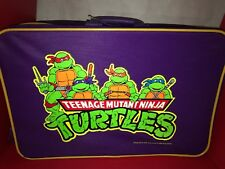 Teenage Mutant Ninja Turtles Suitcase Luggage Vintage Never Used!
