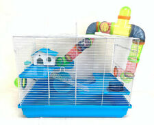 "24"" Large 3-Tiers Hamster Habitat Tube House Cage Rodent Gerbil Rats Mouse Mice"