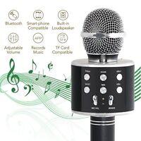 MICROFONO PER KARAOKE CANTO MUSICA WIFI WIRELESS BLUETOOTH MICROFONO INTEGRATO