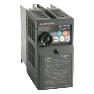0.75KW 1.0HP MITSUBISHI ELECTRIC D700 SINGLE TO 3PH INVERTER FR-D720S-042SC-EC