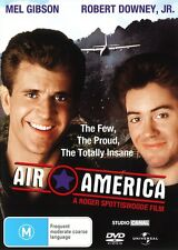 AIR AMERICA New Dvd R4 MEL GIBSON ROBERT DOWNEY JR ***