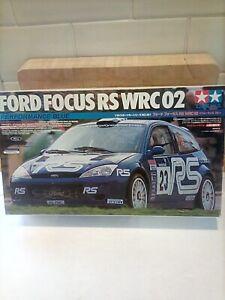 TAMIYA FORD FOCUS RS WRC 02 RALLY CAR 1/24 SCALE MODEL KIT