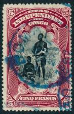 1894 Belgian Congo Stamp, #16a, used Boma Cds
