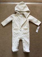 DKNY Baby Girls White Pram suit In 3-6 Months