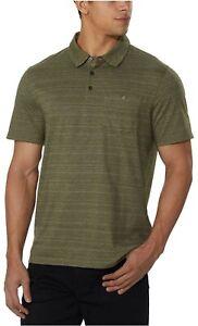 NWT! Men's English Laundry Soft Hand Feel Short Sleeve 3 Button Polo Shirt S24